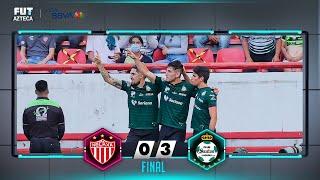 Necaxa 0-3 Santos Laguna   Resumen   Jornada 1   Liga BBVA MX
