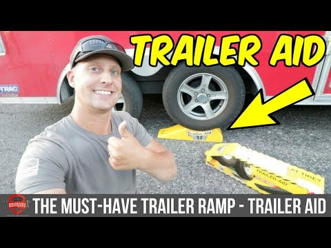 Quick Tire Changing Tool Must Have Tire Ramp Trailer Aid Review Youtube