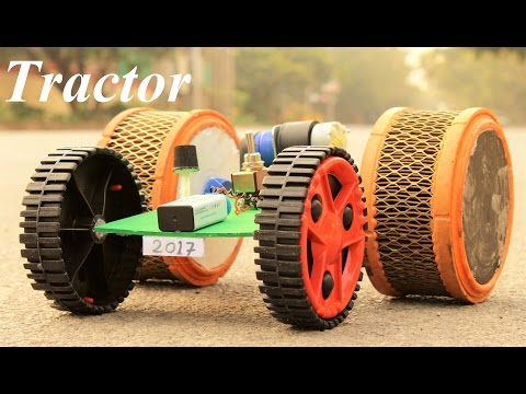 How To Make A Tractor - Make Your Own Creation