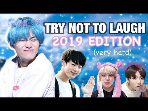 Bts 방탄소년단 Try Not To Laugh Challenge 2019 Edition Very Hard Youtube