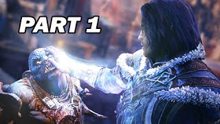 Middle Earth Shadow of Mordor Walkthrough Part 1 - The Black Hand of Sauron (PC 1080p Gameplay)