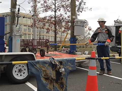 High Voltage Power Line Safety Demonstration