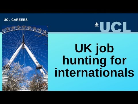 UK Job Hunting For International Students | CareersLab