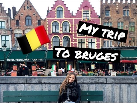 MY TRIP TO BRUGES, BELGIUM⎮MARCH 2016