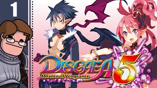 Let's Play Disgaea 5: Alliance of Vengeance Part 1 - Dood! Episode 1: Prelude to Vengeance