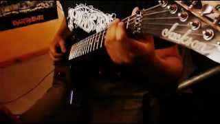 havok time is up guitar cover
