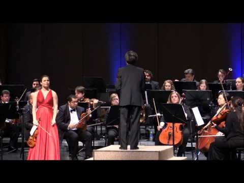 Barber Violin Concerto with Bella Hristova and the VSO conducted by Darryl One