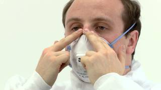 Fitting 3M Cup Shaped Disposable Respirators