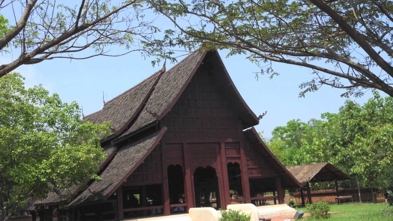 Traditional thai architecture youtube for Thailand architecture