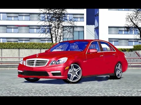 mercedes e63 amg ets2 (euro truck simulator 2) - youtube