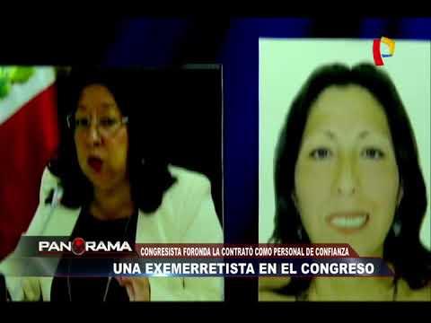 Una exemerretista en el Congreso: parlamentaria la contrató como personal de confianza