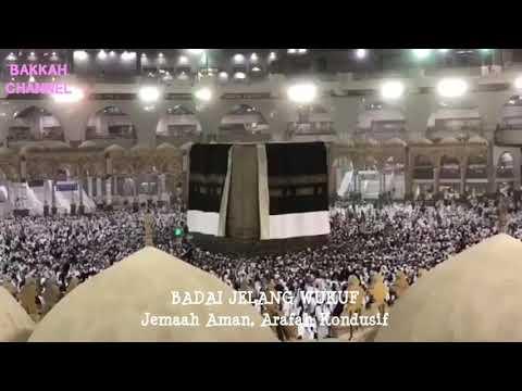 HAJI 2018: BADAI ARAFAH, KISWAH TERBELAH