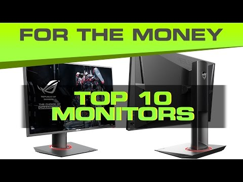 Best Gaming Monitor 2015 G-Sync, 144Hz, and Value Picks