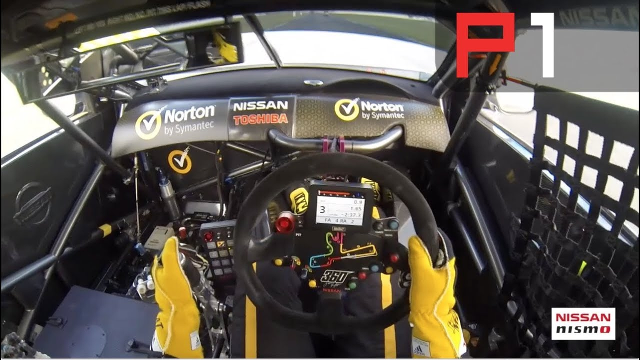 Supercars James Moffat On Board Lap Of Winton Motor Raceway