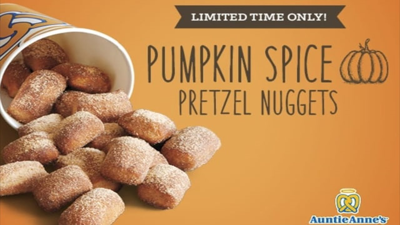 Image result for pumpkin spice pretzel nuggets