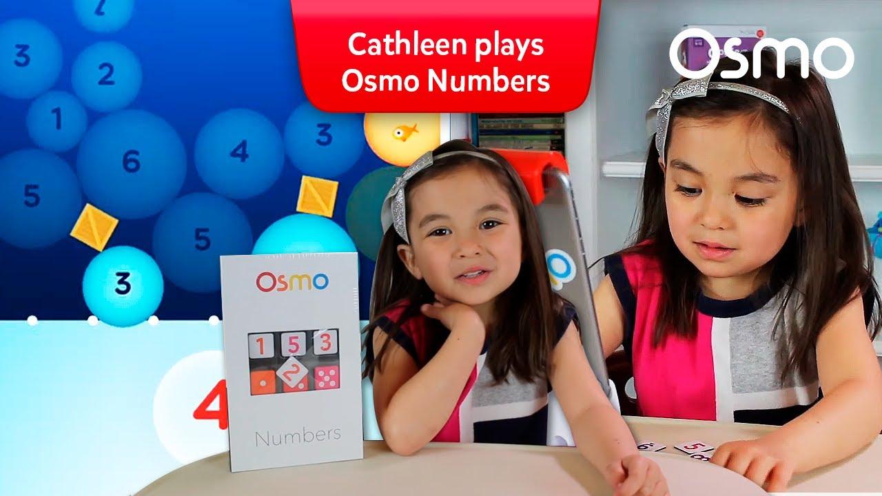 Osmo Numbers fish fun with Osmonaut Cathleen