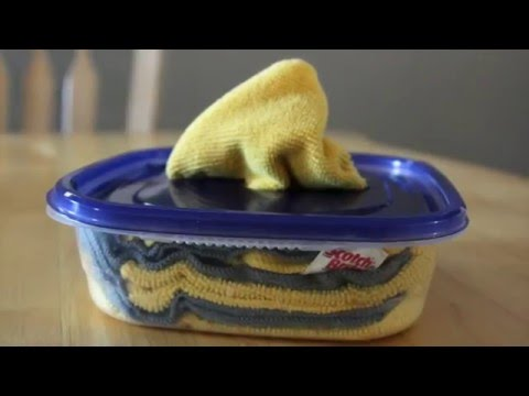 Reuseable Cleaning Wipes Video (Pins and Procrastination)