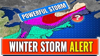 Incoming Powerful Winter Storm