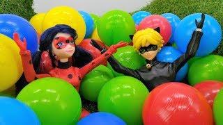 LadyBug contre AntiBug en français pour enfants: la ville sous les balles