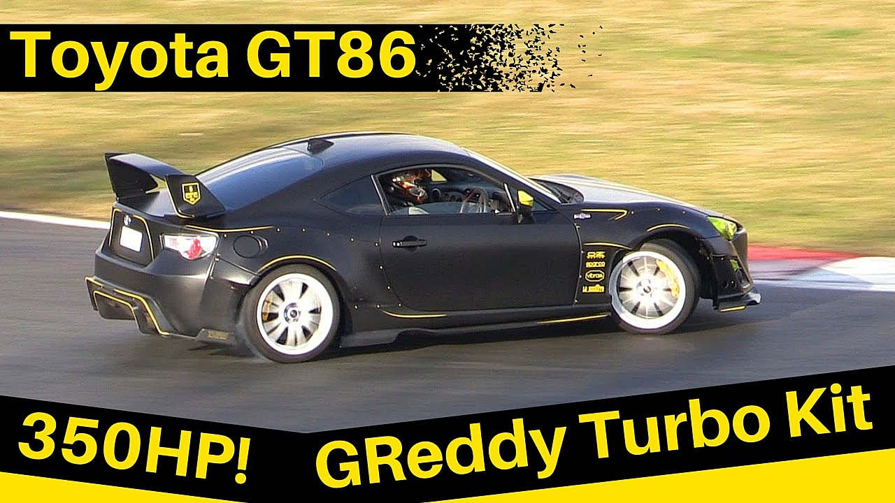 toyota gt86 with greddy turbo kit 350hp drifting. Black Bedroom Furniture Sets. Home Design Ideas