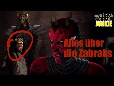 STAR WARS: SPEZIES | ZABRAK | ALLES ÜBER DIE SPEZIES DER ZABRAK! | DEUTSCH / GERMAN