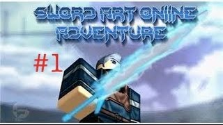 Roblox-Sword Art Online Adventures Part 1: I WANT A DRAGON