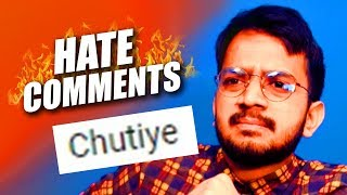 HATE COMMENTS 😡 | Ft. Amit Bhadana, Pewdiepie fans
