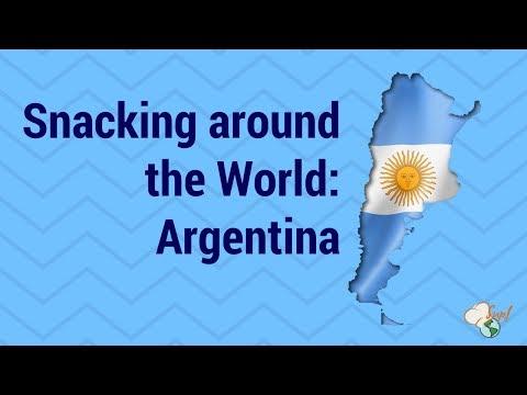 Snacking Around the World:  Argentina