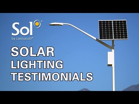 Solar Lighting Testimonials: How Sol Is Changing Commercial Lighting in North America
