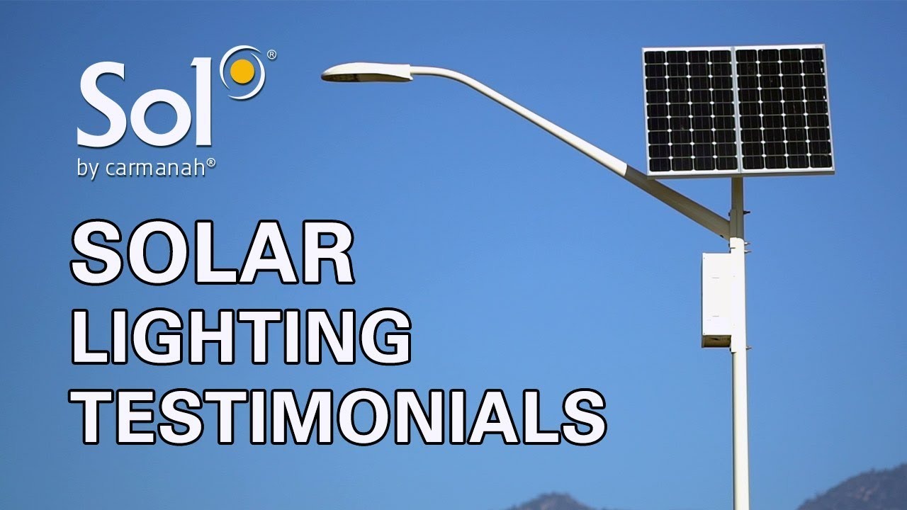 Solar Lighting Testimonials How Sol Is Changing Commercial In North America