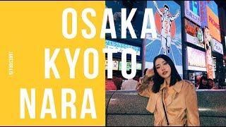 Osaka Kyoto Nara Vlog กินปูยักษ์ กินเนื้อโกเบคำละ 600บาท | Jane Soraya