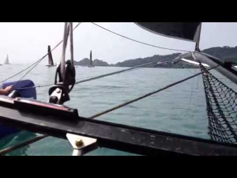 Extreme 40 Pirelli Regatta - On Board with Torben Grael and
