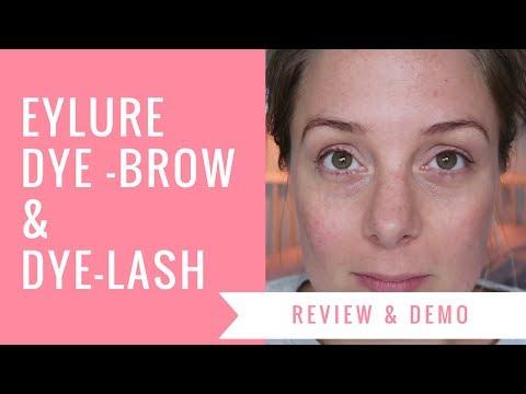 14db2f73ef7 Eyelash and eyebrow tinting - EYLURE - YouTube