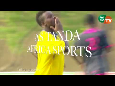 SPOT COUPE NATIONALE 54è EDITION AS TANDA / AFRICA SPORTS