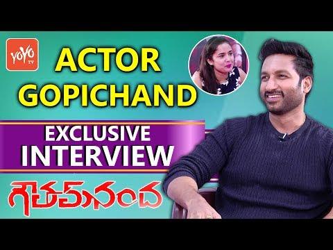 Hero Gopichand Exclusive Interview | Goutham Nanda Movie | Celebrity Talk | YOYO TV Channel