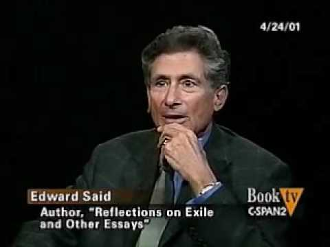 Edward Said's interview about his essay Reflections On Exile (2000)