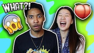 Korean Girl Meets Black Boyfriend's Family For The First Time! Story Time! | SLICE n RICE 🍕🍚
