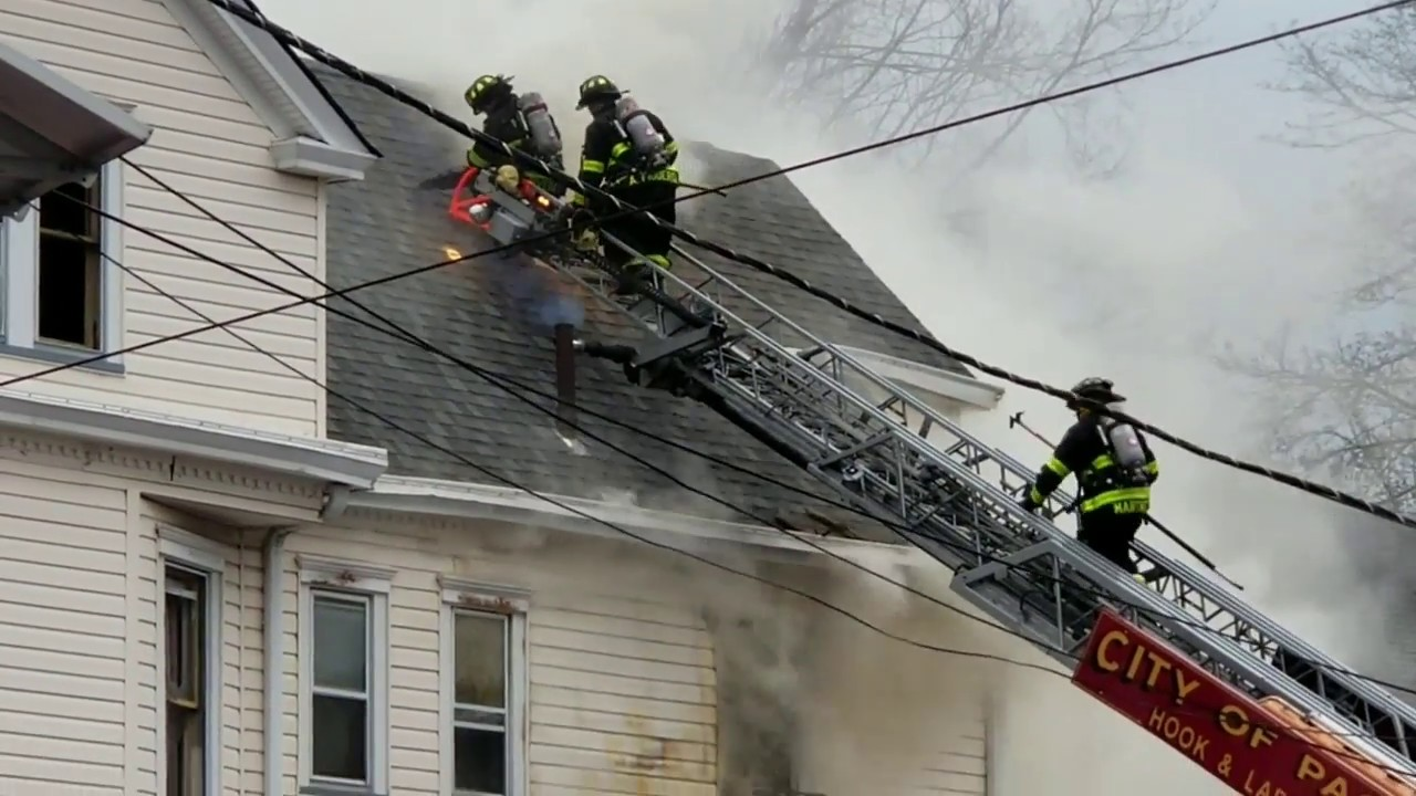 Firefighter Training Pitched Roof Ventilation Know You