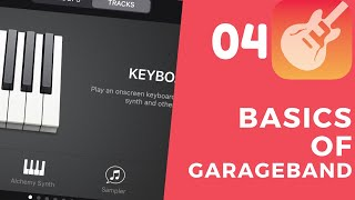 EP 04 -- STRINGS sounds in Garageband   GARAGEBAND FOR IOS 13