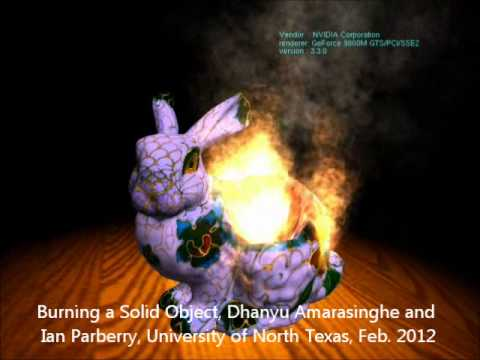 Burning a Solid Bunny