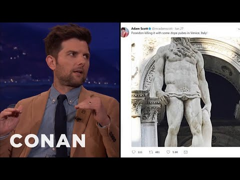 Adam Scott's European Family Vacation  - CONAN on TBS