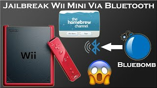 How To Mod Wii Mini with Bluebomb Via Console Bluetooth