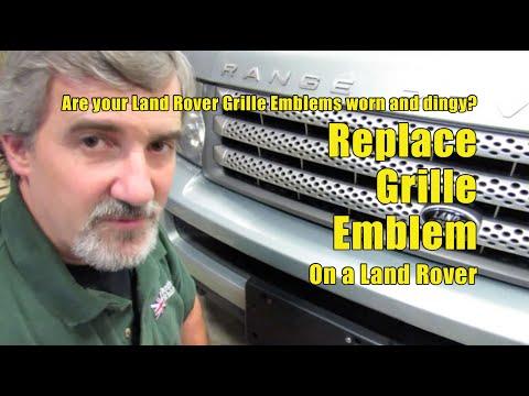 Atlantic British Presents: Land Rover Emblem Replacement