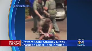 Broward State Attorney's Office Drops All Charges Against Teen Shown On Pepper-Spraying Video