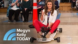 Trailblazing Driver Danica Patrick And Megyn Kelly Race In Go-Karts | Megyn Kelly TODAY