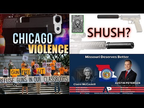 Lone Star Gun News Ep.1  Chicago Violence, Austin Peterson, UT Campus Carry and SHUSH Act