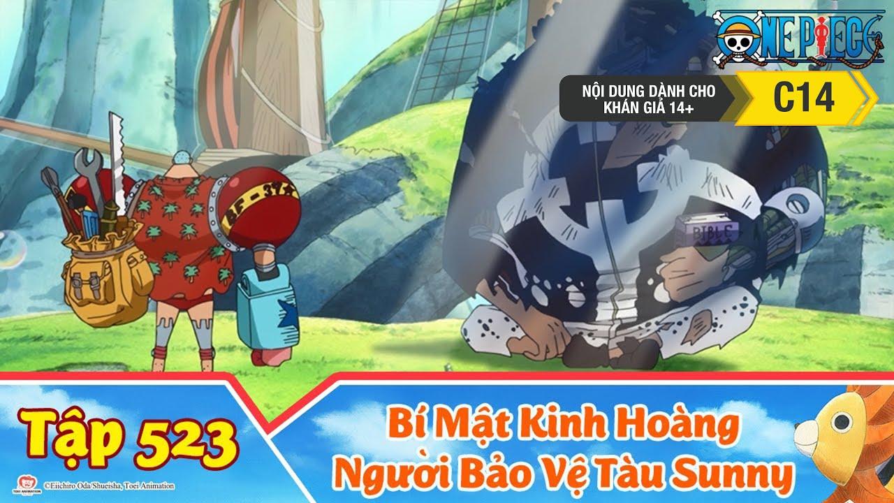 One Piece Best Cut Tập 523: Bí Mật Kinh Hoàng. Người Bảo Vệ Tàu Sunny