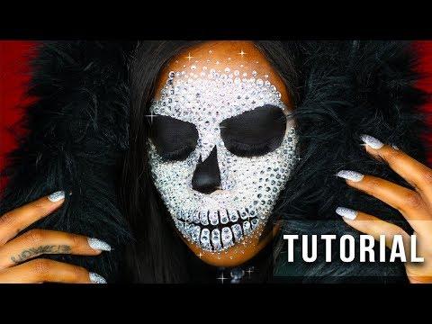 GLAM REAPER 💀⛏ Halloween Crystal Skull Tutorial | Primetime Beauty