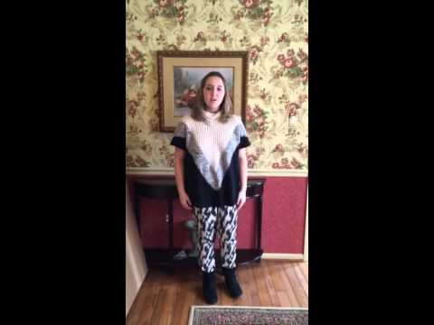 Sophia sings 32 bars of Astonishing from Little Women