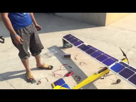 Pakistan first solar plane UAV